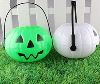 Party Supplies Outdoor and Home Decoration LED Halloween Plastic Pumpkin Lantern
