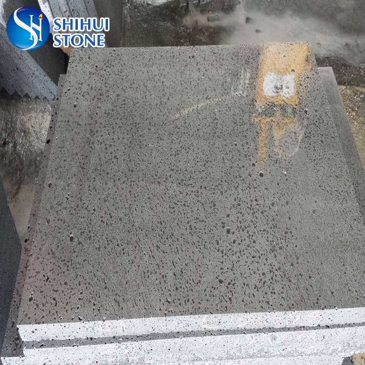 chinese grey color basalt bricks for outdoor paving