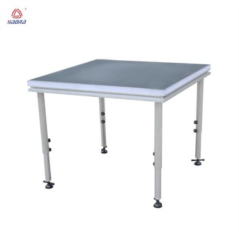 Aluminum Portable Stage Folding Portable Stage Adjustable/ Stage Deck