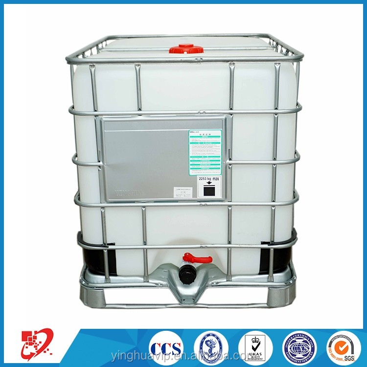 1000L Galvanized fream IBC tote tank intermediate bulk containers with hdpe inner tank