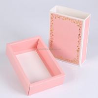 Custom Made Ppaper cloth packing box with Matt finishing