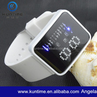 2014 New Concept Watch Led Silicona Relojes Pulsera