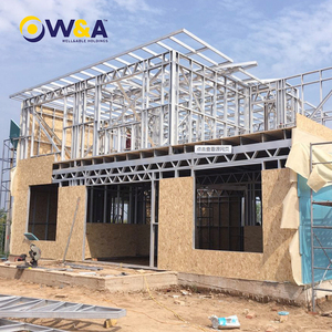 (WAS1008-46D)China Modern Steel Structure Prefab Houses/Prefabricated/Modular Homes