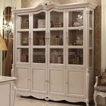 French Style Luxury Bookcasewooden Bookcase Furniturebookcase Wtih