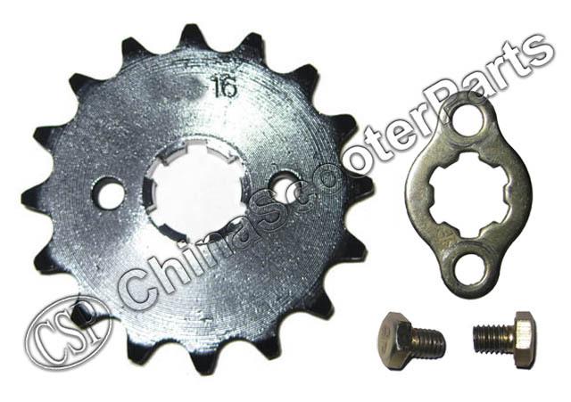 14 Tooth 14T 428 20MM Sprocket For Taotao Sunl JCL Kazuma Lifan ZongShen Loncin