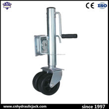 XY-2000L side handle 2000LBS trailer stabilizing jack with rubber wheel