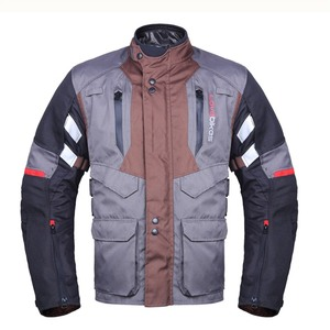 Textile Winter Brown Motorcycle Jacket for Sale