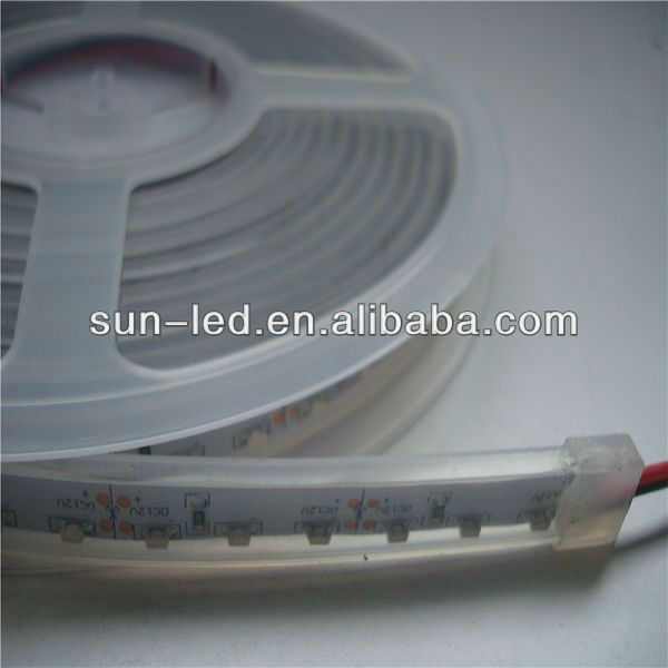 led strip 335 waterproof led ribbon 12V led car lights 335 flexible led strip side view