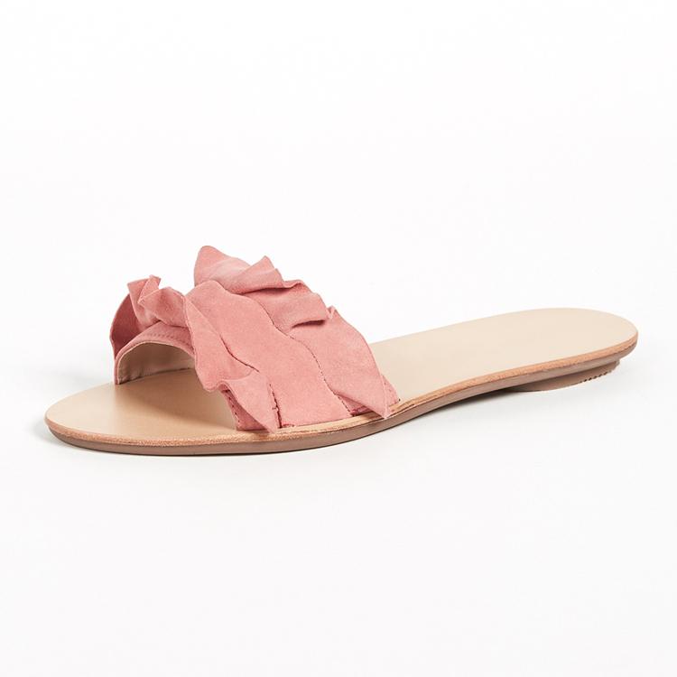Comfort Women s Shoes Simple Flat Sandals Fancy Ladies Sandals - Buy ...