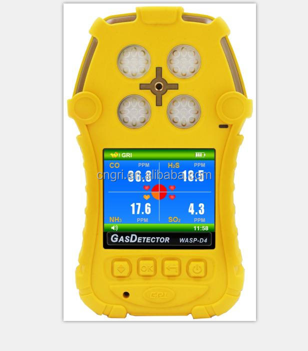 4 In 1 Multi Gas Detector/ Gas Analyzerh2o,Co2,Sf6,Hc Portable Gas ...