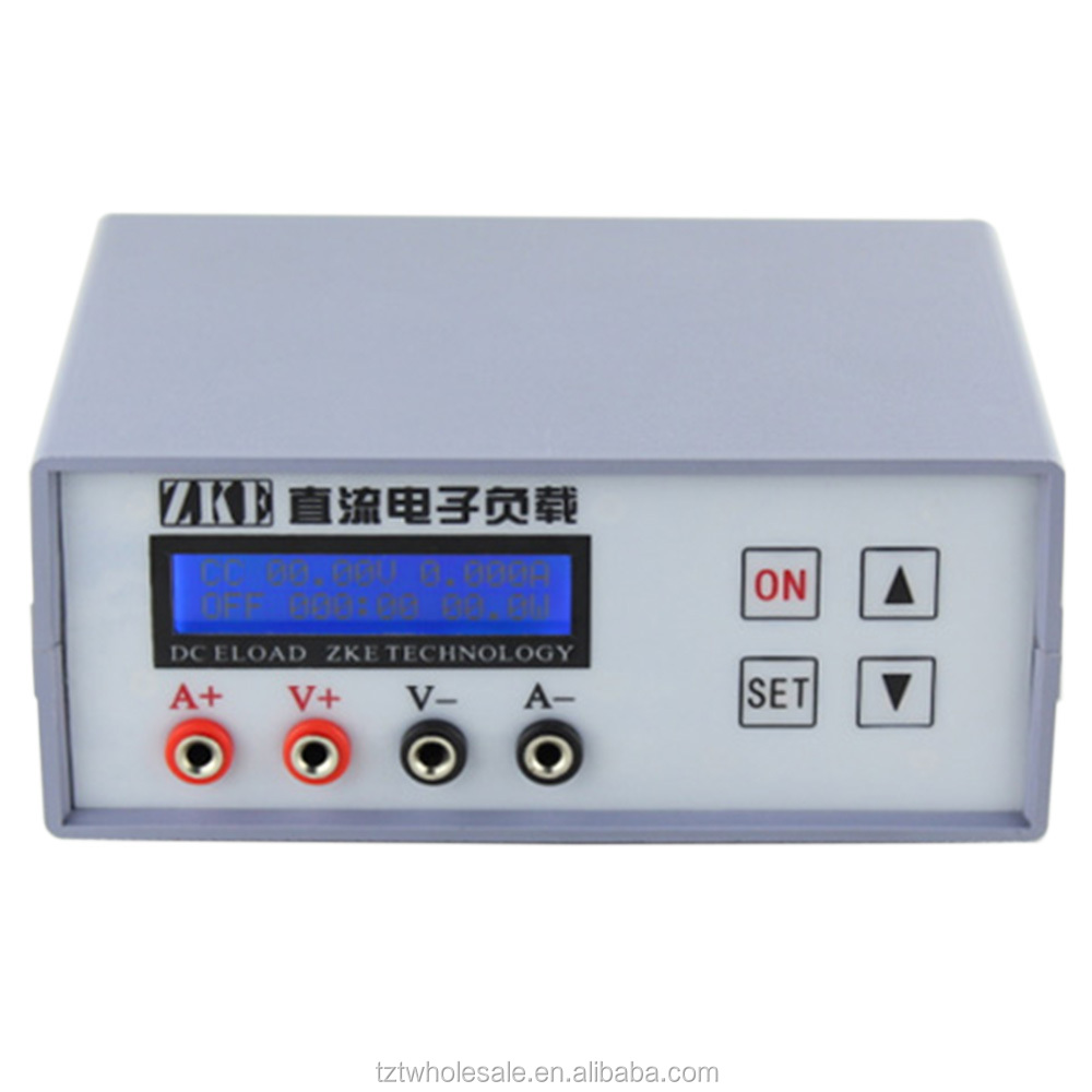 EBC-A10H DC12V 1A Battery Capacity Tester Measurement for Alkaline CR Button Disposable Batteries