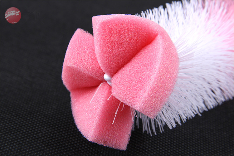 New Bottle Nipple Brush Set Wholesale Silicone Baby Bottle Cleaning Brush
