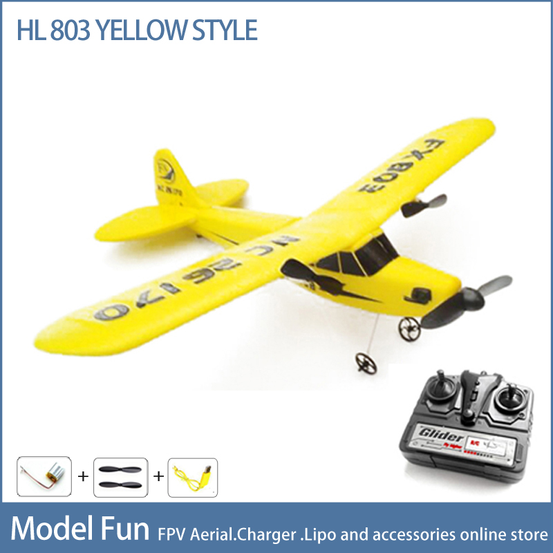New Arrival Sky Surfer 2.4Ghz 2 Channel RC  Airplane Remote Control Radio Toys