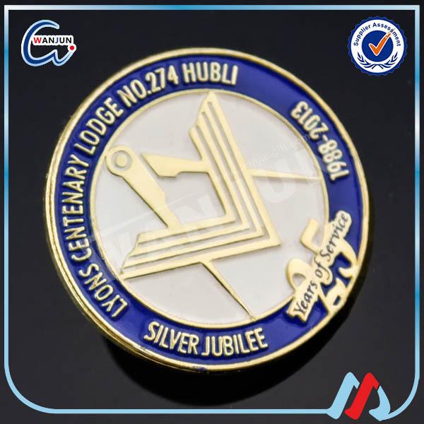 ᗗ100pcs Customized Diecast Enamel 1 ᐂ Masonic Masonic