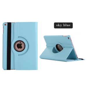 Shockproof 360 Rotate PU leather tablet case cover for ipad 9.7