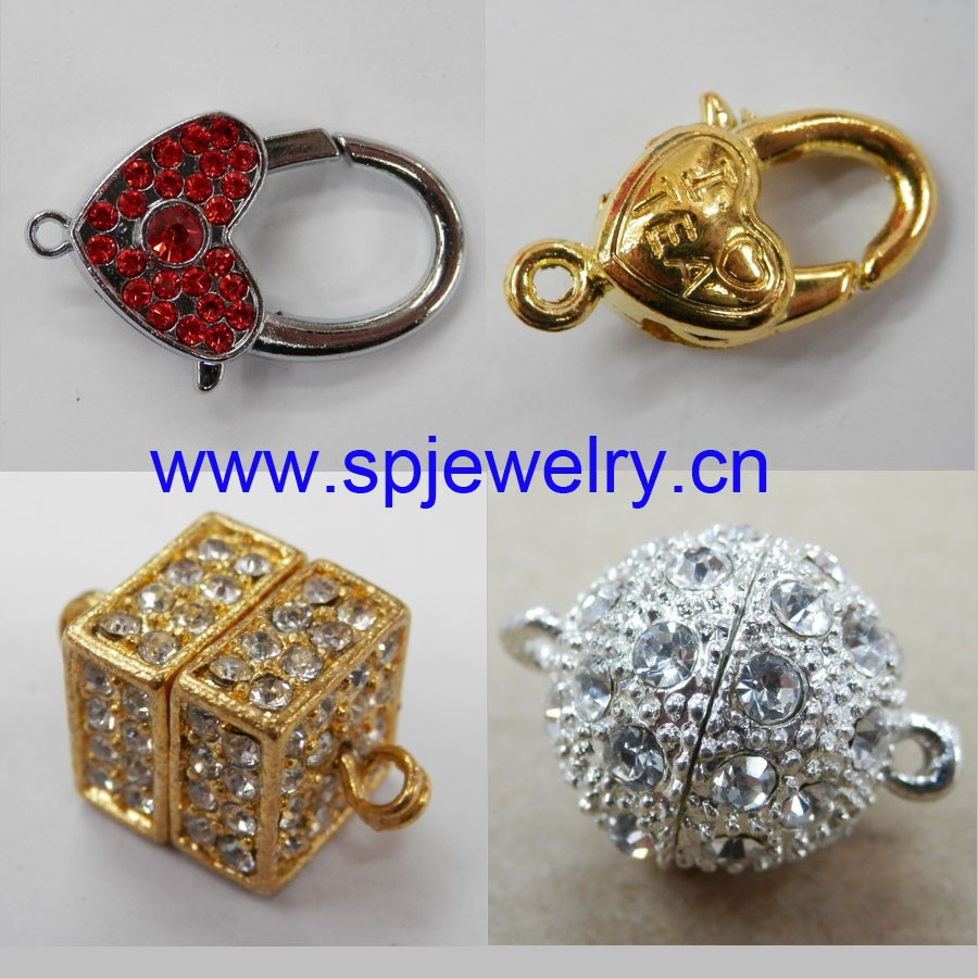 magnetic clasps for jewelry making, wholesale jewelry finding