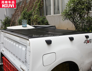 kv8801 hard tri fold truck pickup bed cover capota de picape for 2012-2016 ford ranger xlt