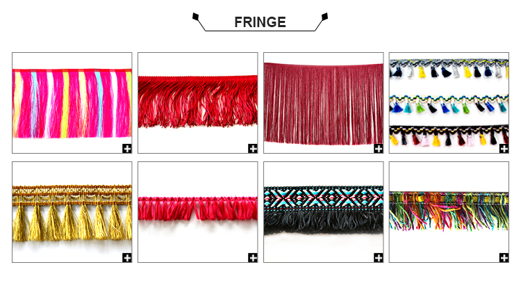 Wholesale New Arrival Tassel trim Type Pom Pom Fringe