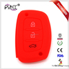 Multi-color silicone car key case for Hyundai IX35 car key Fob cover car accessories