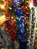 Party Christmas Featival Decoration garland tinsel