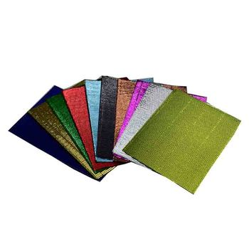 art craft paper corrugated metallic cardboard