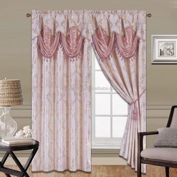 2 Stücke Elegante Fenster Vorhang Amerikanischen Stil Mit Luxus ...