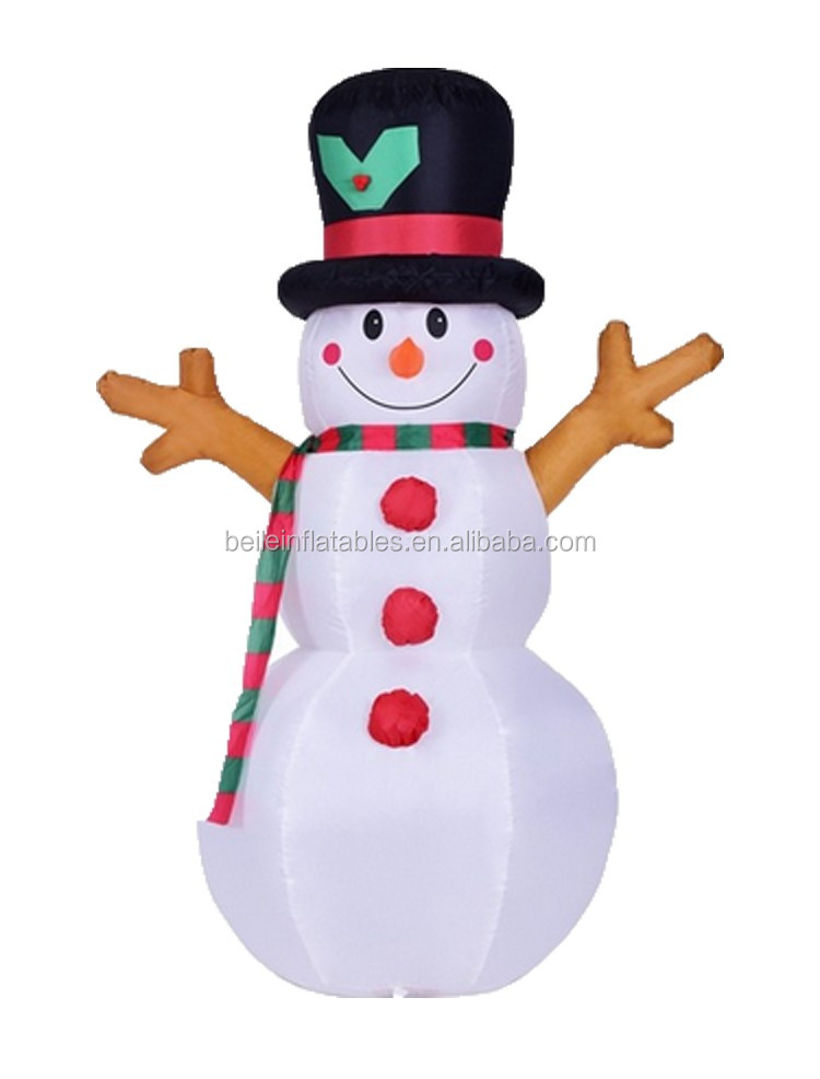 Inflatables decorated inflatable christmas snowman yard for 7p decoration