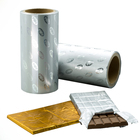Soft Gold Foil Aluminum Foil Wrapping Heat Sealable Gold Foil For Wrapping Chocolate Bars Aluminium Foil