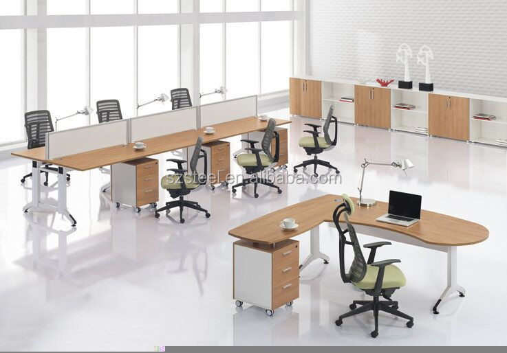 4 Seat Office Workstation Cubicle, 4 Seat Office Workstation ...