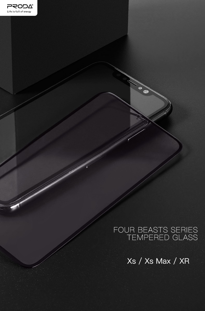 Promotional Proda lcd phone tempered glass screen protector