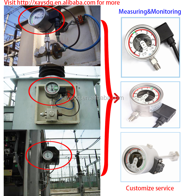 Electrical Cable Parts Sulfur Hexafluoride Gas Measuring ...