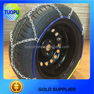 Alibaba steel emergency snow tire chain cleated tire chain tire protection chain for loader