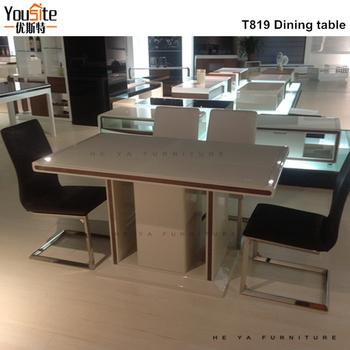 Retráctil Comedor Muebles Mesa De Comedor Para Espacios Pequeños ...