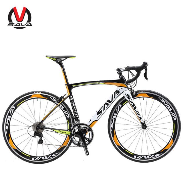 סבא 700C * 440/480/500/520MM פחמן foad אופני אור משקל מרוצי כביש אופני Ultegra 6800 קבוצת סט אופני כביש