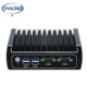 China Supplier Wholesale Custom Mini Itx Computer Case With Intel I3 Processor Dual Lan Ports