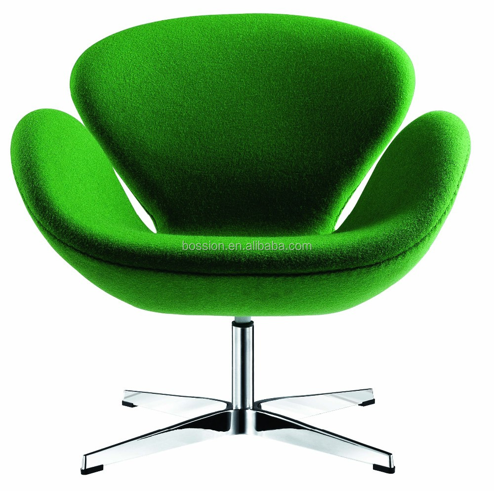 Arne jacobsen aluminum swan chair replica for home and for Alu chair replica