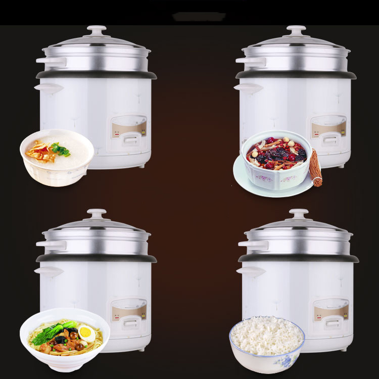 Hot sale 6L 1000W electric rice cooker pot stainless steel