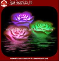 RGB color changing assorted led flashing flower promotional gift