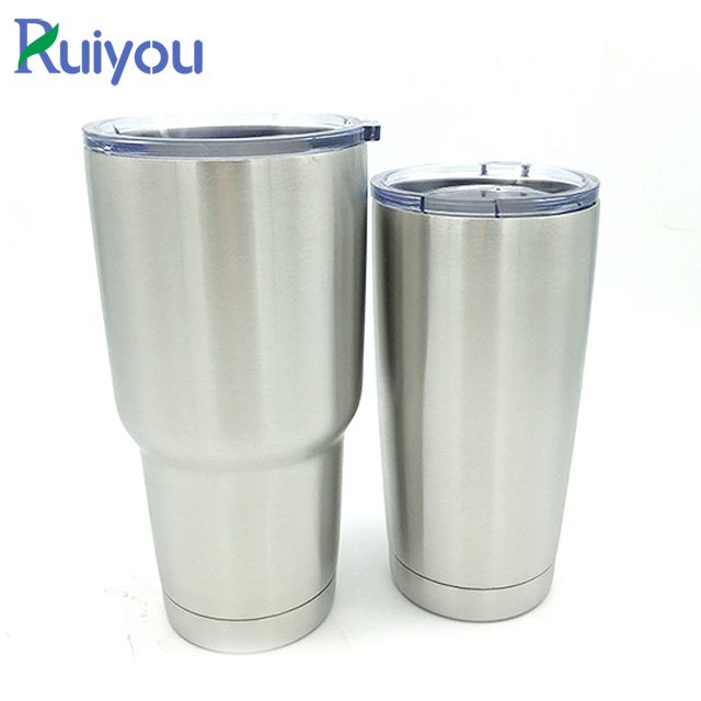 Wholesale blank 30 oz 20 oz double wall stainless steel vacuum insulated tumbler travel coffee mug