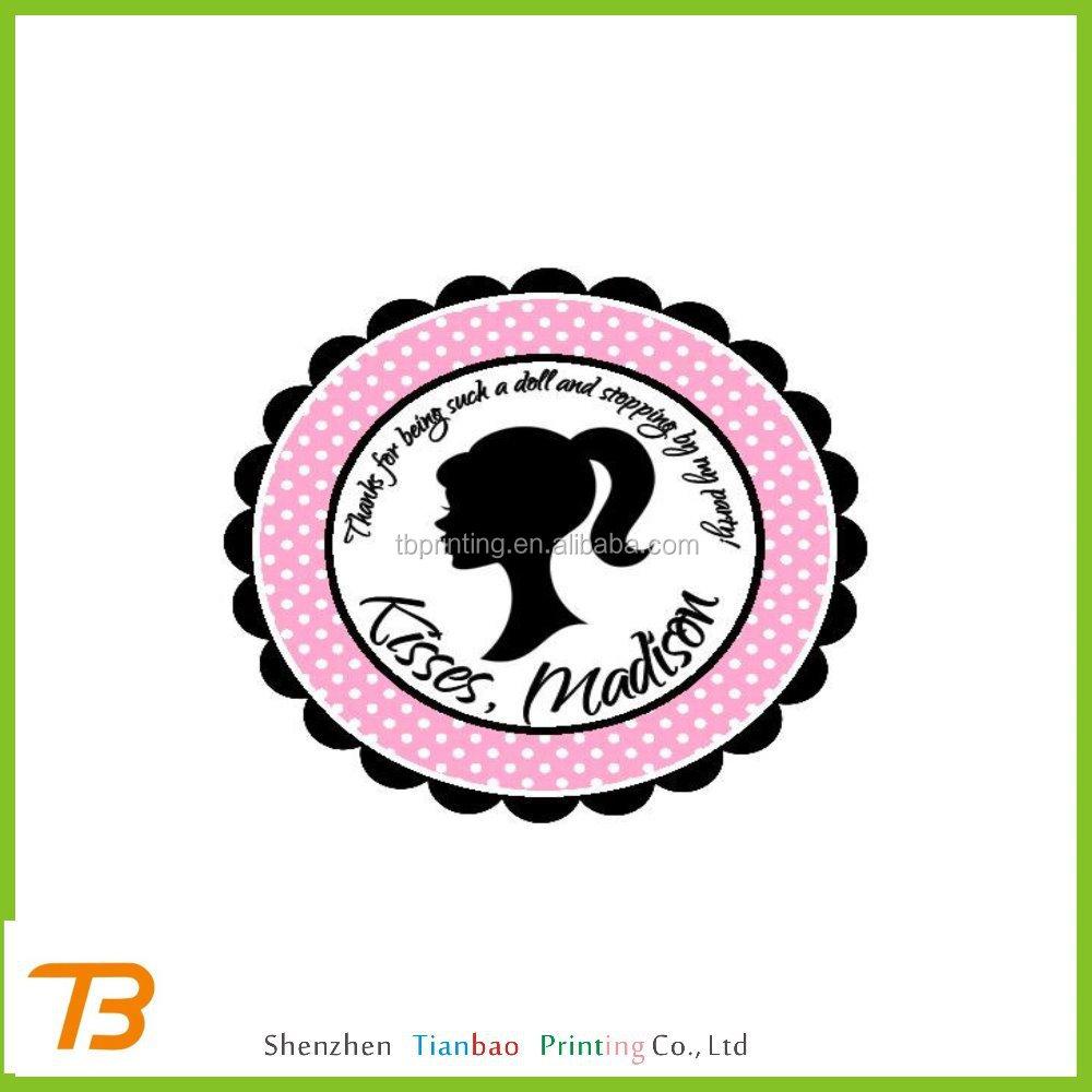 Printed Round Stickers, 500 Custom 1