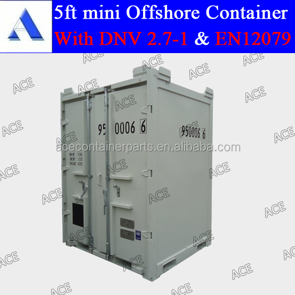 DNV certified 5ft mini offshore container dnv2.7-1 standard for sale