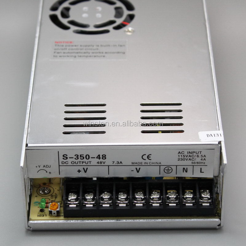 Power Supply S-350-36 Switching Power 36V 350W Security Monitoring Industrial AC Power Supply 9.7A Relay Tool Switching Power Supply