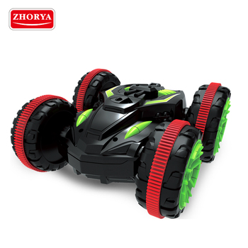 Zhorya super power stunt car waterproof rc amphibious chariot for sale