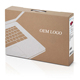 corrugated paper packaging carton cardboard shipping box with handle for laptop