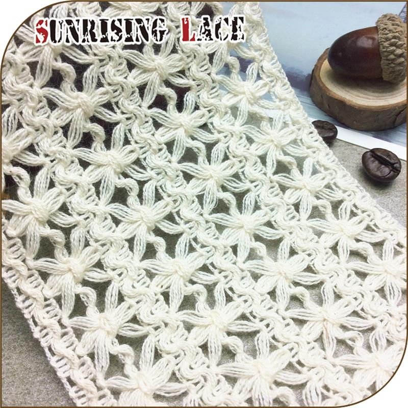 Custom New Fancy Braid Cotton Crochet Lace
