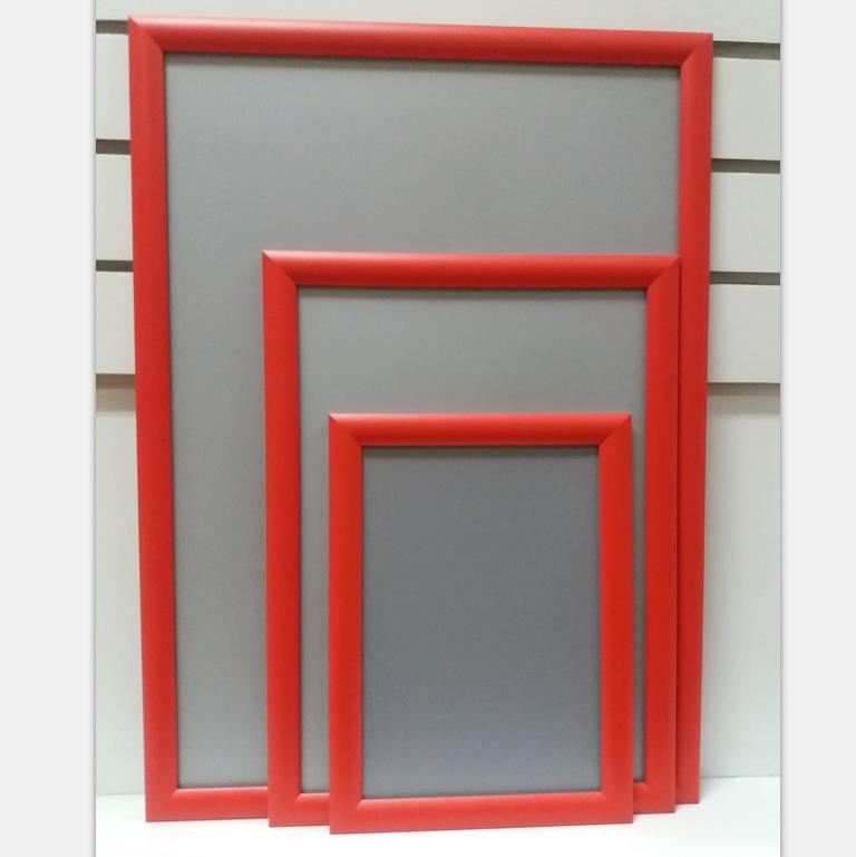 Venta al por mayor marcos de aluminio cartel a3 rojo-Compre online ...
