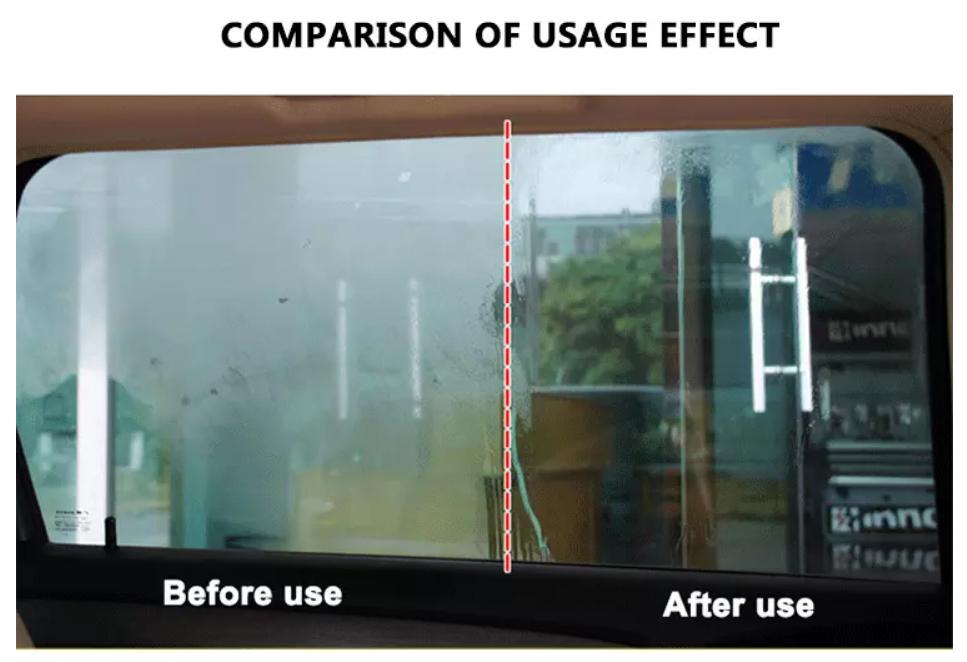 Wholesale Supplier 120ml Anti-Fog Car Glass Cleaner  Car Anti Fog Spray