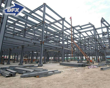 Alibaba China Prefabricated Storage Sheds High Rise Steel Structure Building