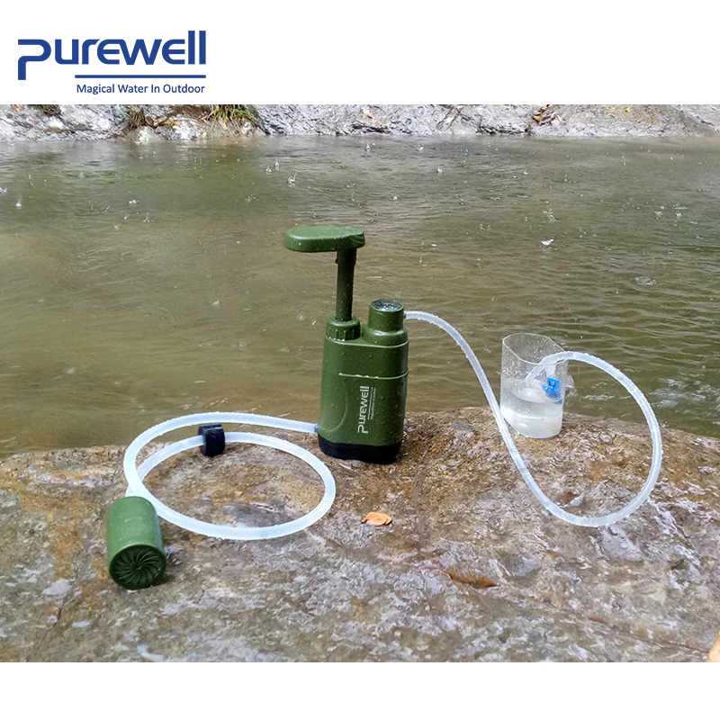 Export selling emergency purification systems miracle straw UF Membrane outdoor water filter