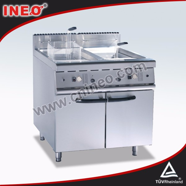 Professional Stainless steel gas fryer with temperature control/deep fryer for fried chicken